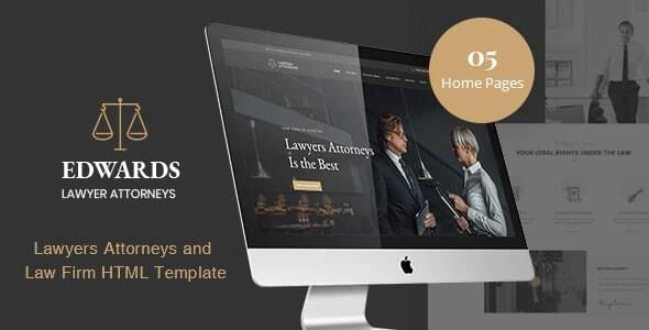 Edwards Law Firm HTML Template