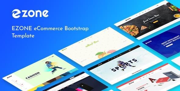 Ezone Mega Shop eCommerce HTML Template