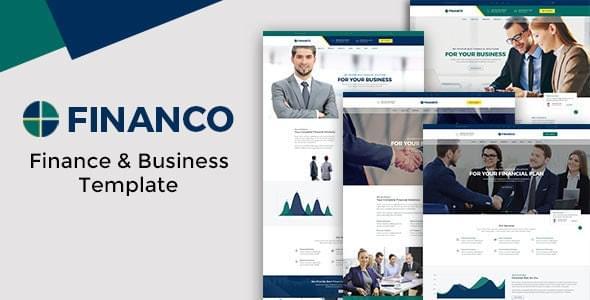 Financo Finance & Investment HTML Template