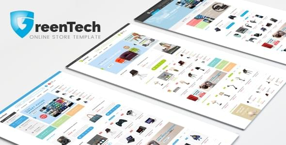 GreenTech Electronics Fashion Store HTML Template