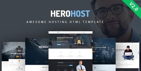 HeroHost Web Hosting HTML Template