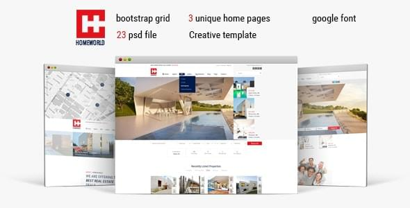 Homeworld Real Estate HTML5 Template