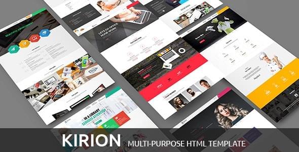 Kirion Multipurpose Bootstrap Template