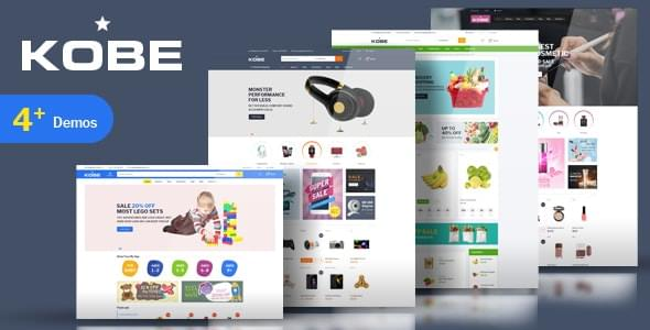 Kobe Kids Toys Electronics Store HTML Template