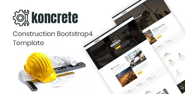Koncrete Construction HTML Template