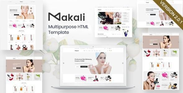Makali Multipurpose HTML Template