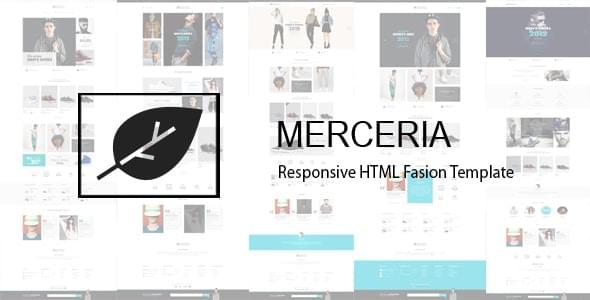 Merceria Fashion Store HTML Template