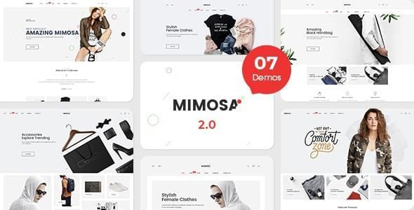 Mimosa Fashion eCommerce Template