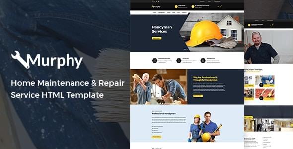 Murphy Home Maintenance & Repair Service HTML Template