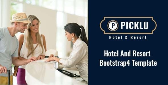 Picklu Hotel Resort HTML Template