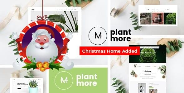 Plant and Flower Shop eCommerce HTML Template Plantmore