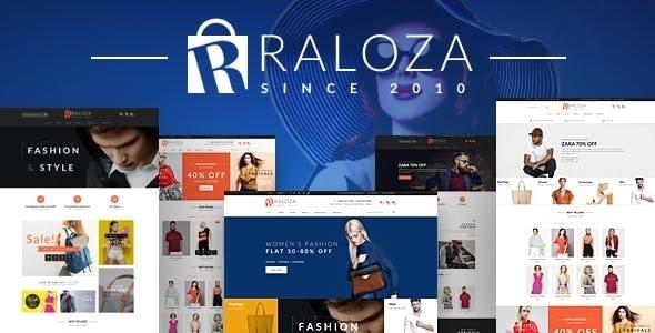Raloza Fashion eCommerce HTML Template