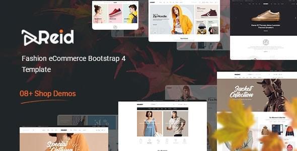 Reid Fashion eCommerce HTML Template