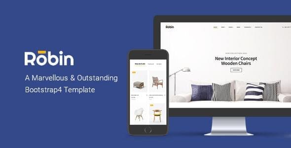 Furniture HTML Template Robin