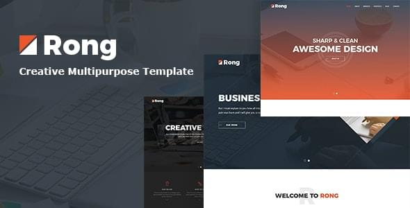 Rong Creative Business HTML5 Template