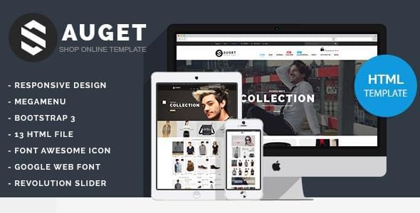 Sauget Fashion Electronics Store HTML Template