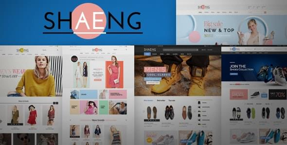 Shaeng Fashion Shop HTML Template