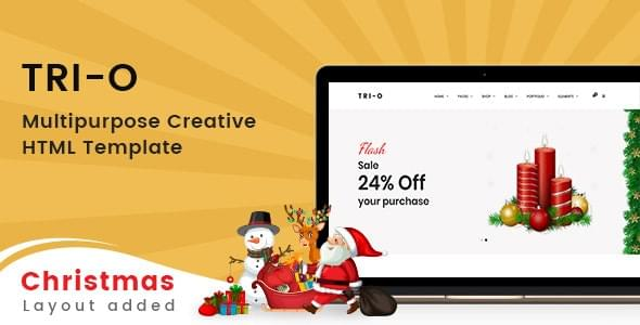 Tri O Bootstrap 4 Multipurpose Creative HTML Template