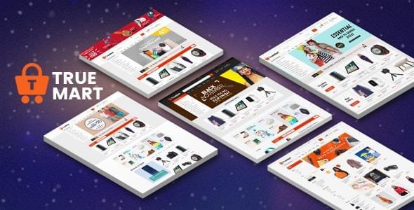 Truemart Fashion Electronics Store HTML Template