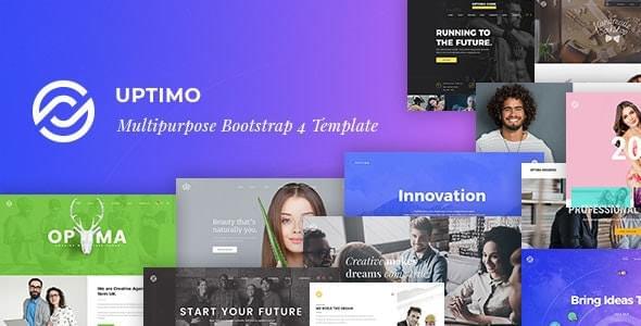 Uptimo Multipurpose Responsive HTML Template