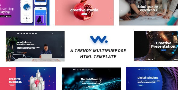 Wilson Creative Agency HTML Template